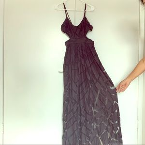 Black urban outfitters party dress